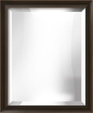 SPADA Espresso Scoop Mirror Wall Mirror