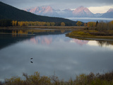 Sunrise at Oxbow Bend in Grand Teton National Park Photographic Print by Jodi Cobb