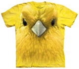 Yellow Warbler Face T-shirts