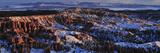 Bryce Amphitheater in Winter Fotografiskt tryck av Raul Touzon