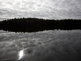 Cloud Reflections on Mirror Lake Photographic Print by Michael Melford