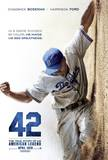 42 - Jackie Robinson Movie Poster Kunstdrucke