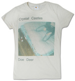 Juniors: Crystal Castles - Doe Deer T-Shirt