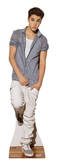 Justin Bieber Checkered Shirt Lifesize Standup Poster Imagen a tamaño natural