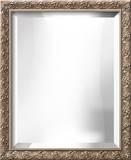 AMBROSIA Silver Wide Mirror Wall Mirror