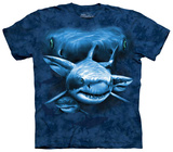 Shark Moon Eyes Shirts