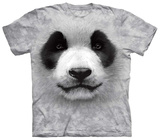Big Face Panda T-shirts