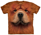 Chow Chow Face T-shirts