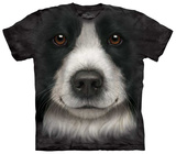 Border Collie Face T-skjorter