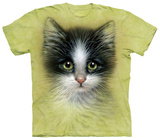 Green Eyed Kitten T-shirts