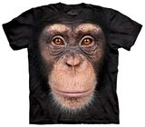 Chimp Face T-shirts