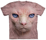 Hairless Pussycat Face T-shirts