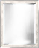 METRO White Mirror Wall Mirror