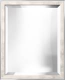 METRO White Mirror Wall Mirror