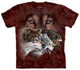 Find 9 Wolves T-shirts