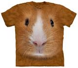 Guinea Pig Face T-skjorter