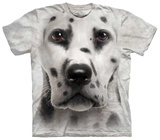 Dalmation Face T-shirts