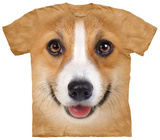 Corgi Face T-skjorter