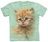 Kitten Portrait T-shirts