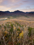 Algonquin Peak and Mount Marcy in the High Peaks Region Photographic Print by Michael Melford