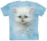 Fluffy White Kitten T-shirts