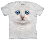 Ivory Kitten Face T-shirts
