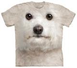 Bichon Frise Face T-skjorter