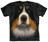 Bernese Mountain Dog Face T-skjorter