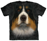 Bernese Mountain Dog Face T-shirts