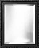 PARMA Black Wide Mirror Wall Mirror