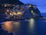 Manarola at Dusk Photographic Print by Raul Touzon