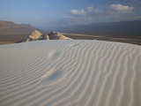 White Sand Dunes Stretch for Miles at Detwah Lagoon Photographic Print by Michael Melford