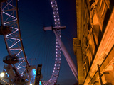 The London Eye at Night Photographic Print by Tino Soriano