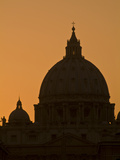 Saint Peter's Basilica at the Vatican Photographic Print by Daniella Nowitz