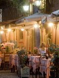 A Restaurant in Vicoli in Trastevere Photographic Print by Daniella Nowitz