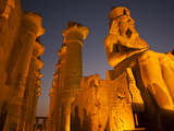 Luxor Temple, Luxor, Egypt Photographic Print by Michael Melford