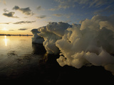 Icebergs Floating in the Arctic Photographic Print by Norbert Rosing