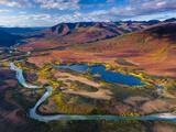 The North Fork of the Koyukuk River Fotografisk trykk av Michael Melford