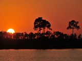 Sunset at Pine Glades Lake Photographic Print by Raul Touzon