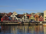 The Harbor in Stavanger Photographic Print by Raul Touzon
