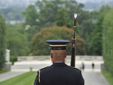 Changing of the Guard at the Tomb of the Unknown Soldier Photographic Print by Raul Touzon