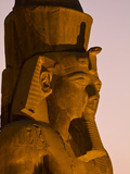 Ramses Ii at the Luxor Temple Photographic Print by Michael Melford