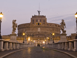 Castel Sant'Angelo and Ponte Sant'Angelo Photographic Print by Daniella Nowitz