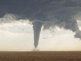 A Classic Spring Tornado Developed from a Supercell Thunderstorm Photographic Print by Mike Theiss