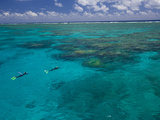 The Great Barrier Reef Out of Port Douglas in Australia Photographic Print by Michael Melford