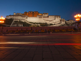 The Potala Palace at Night Photographic Print by Michael S. Yamashita