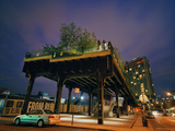 The Southern End of the High Line Starts at Gansevoort Street Photographic Print by Diane & Len Cook & Jenshel