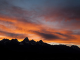 Sunset Behind the Teton Range, Grand Teton National Park, Wyoming Photographic Print by Greg Winston