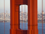 A Partial View of the Golden Gate Bridge Photographic Print by Mike Theiss