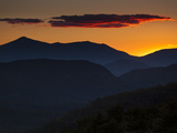Whiteface Mountain in the High Peaks Region of Adirondak Park Stampa fotografica di Melford, Michael